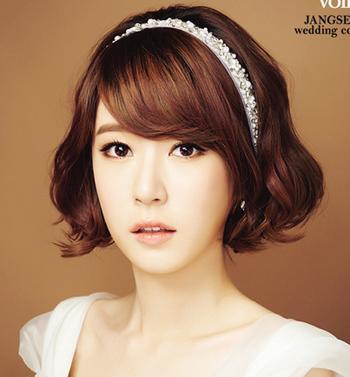 韩式新娘发型教程 韩式新娘发型图片