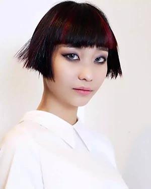 沙宣发型图片女短发 沙萱短发发型图片新款图片