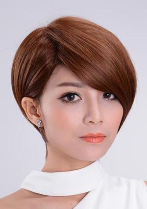 2017时尚沙宣短发发型 沙宣短发发型图片2017图片